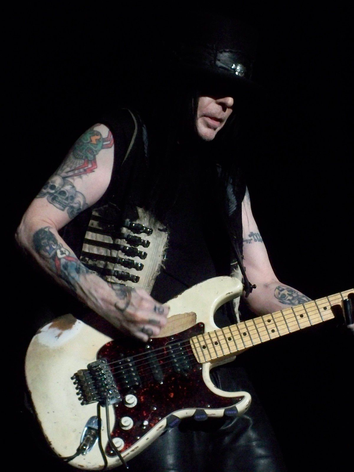 Mick Mars - January 1, 2008 - the legendary guitarist of Mötley Crüe