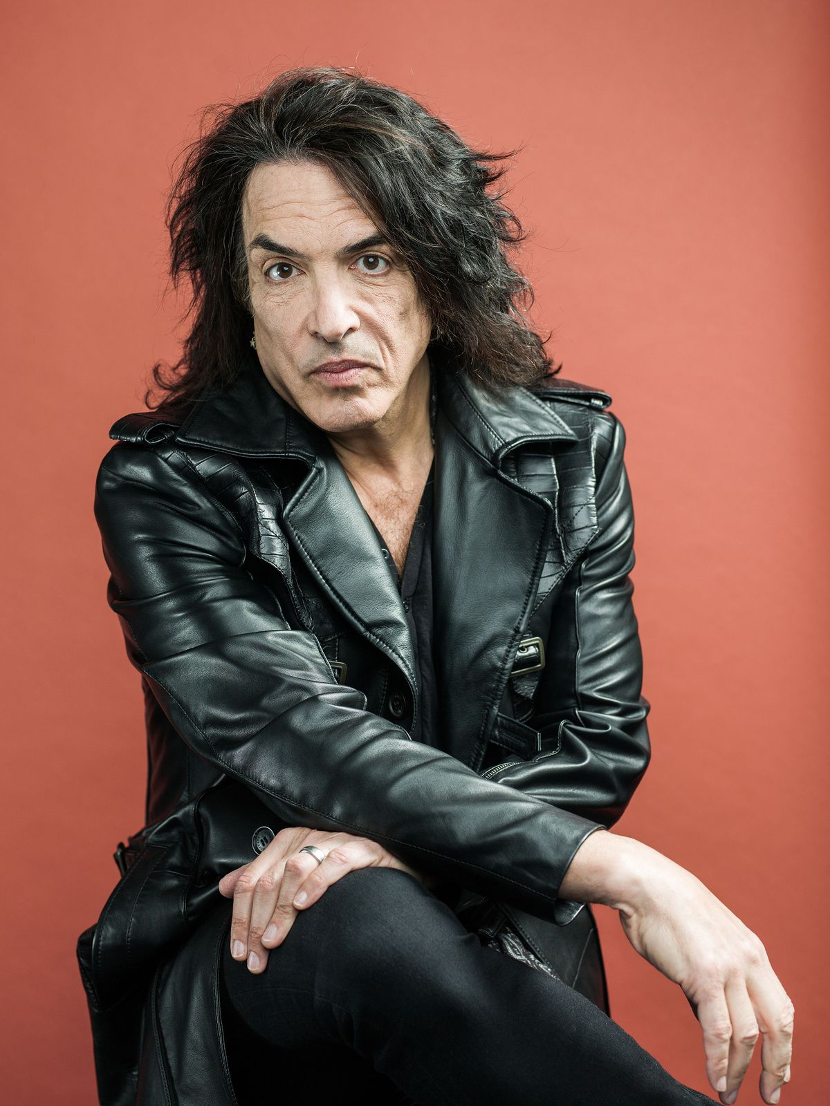 Paul Stanley - Kiss - portrait session