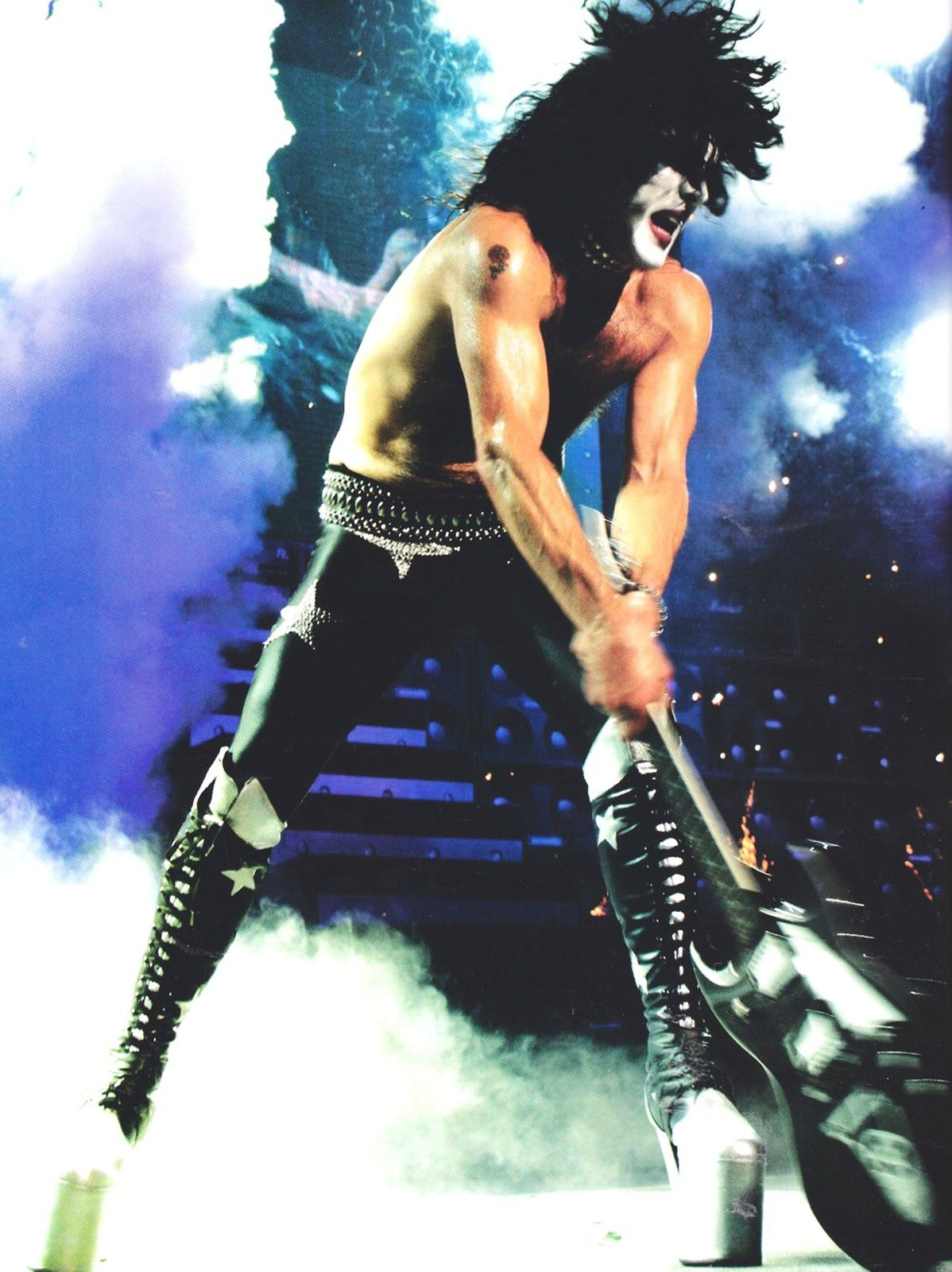 Paul Stanley - 2003 - Kiss - World Domination Tour