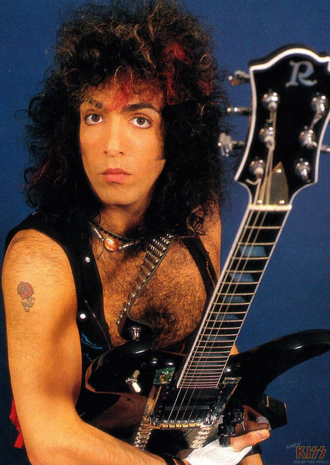 Paul Stanley - October 1984 - Kiss - Animalize Photo Session