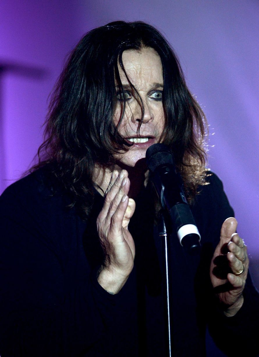 Ozzy Osbourne - Ozzy Osbourne performs at An Evening With Women benefiting The L.A. Gay & Lesbian Center at the Beverly Hilton Hotel