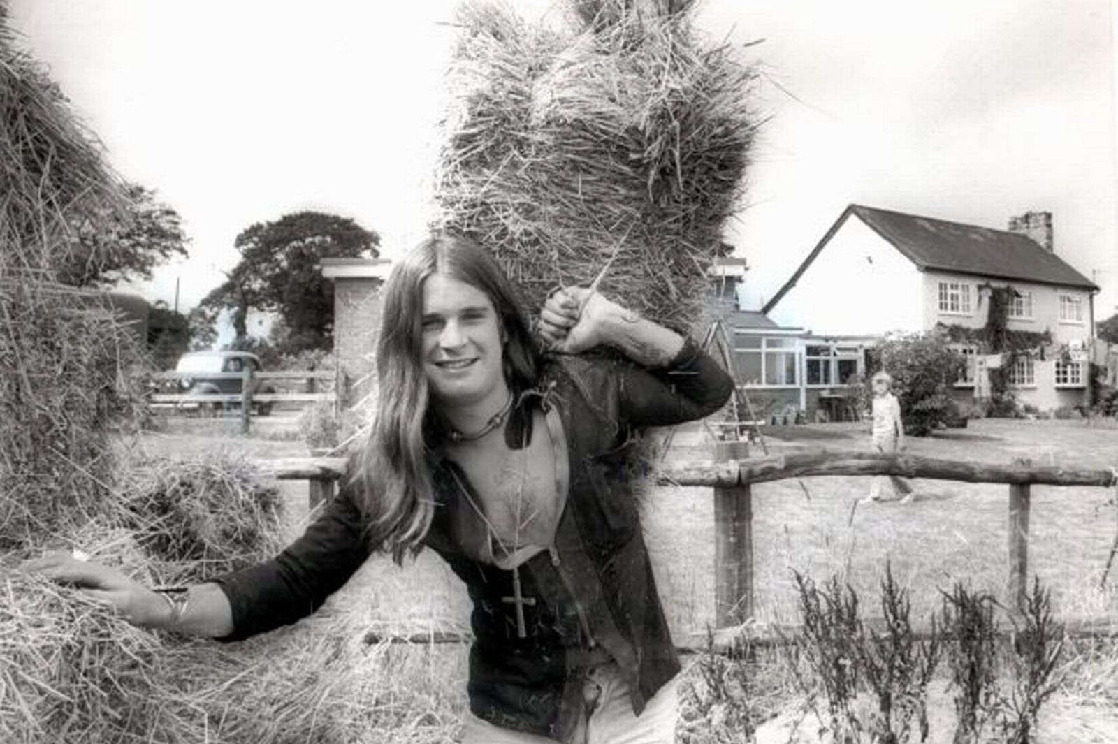 Ozzy Osbourne - 1976 - at his Staffordshire home