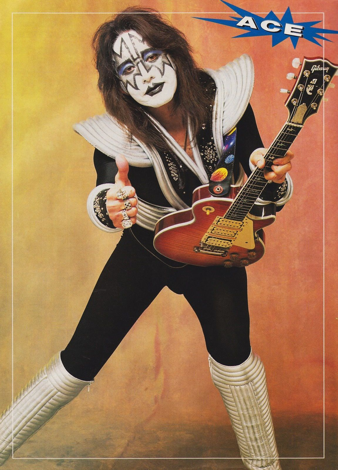 Ace Frehley - 1998 - KISS - Psycho Circus Photo Shoot