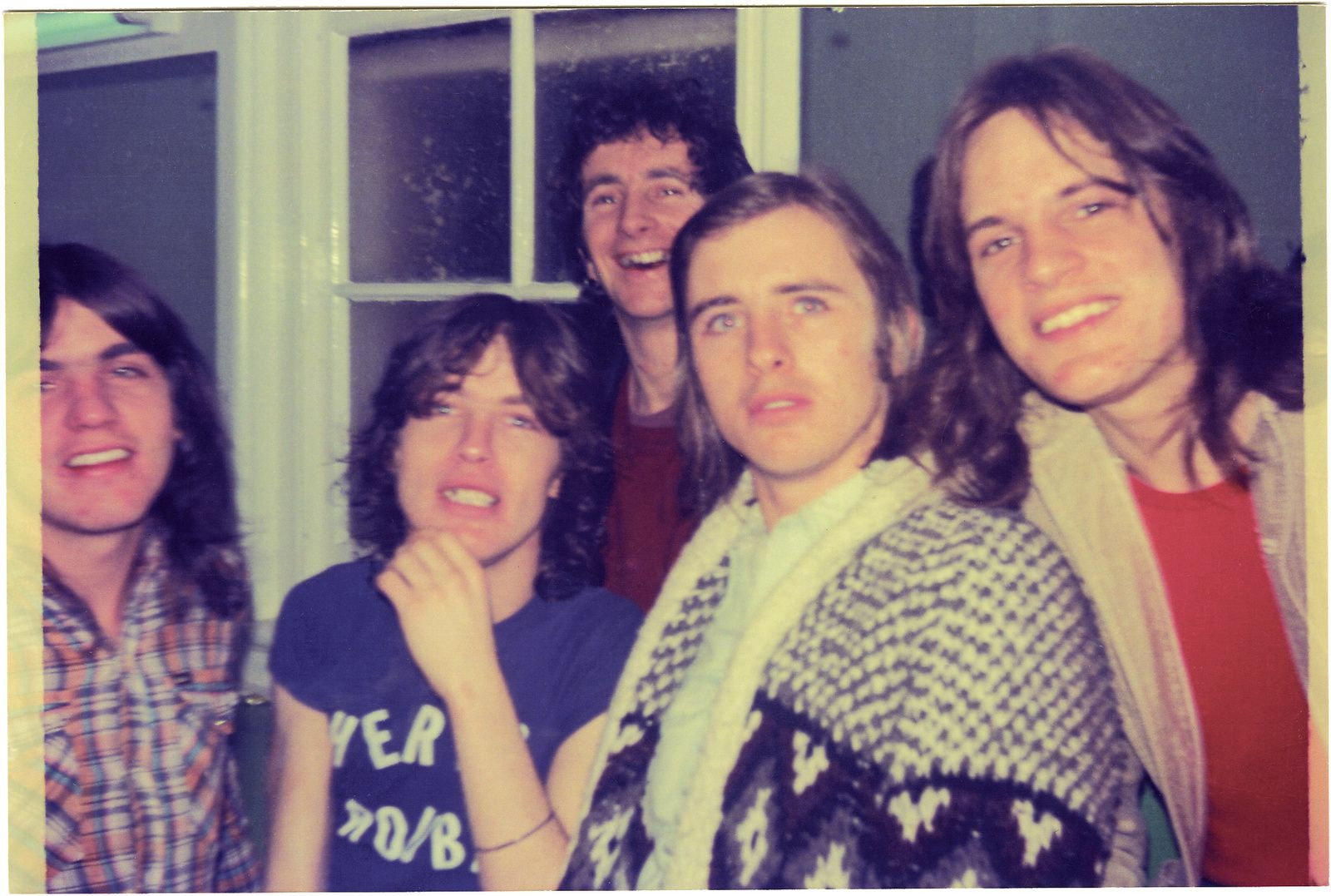 Bon Scott - Early band shot
