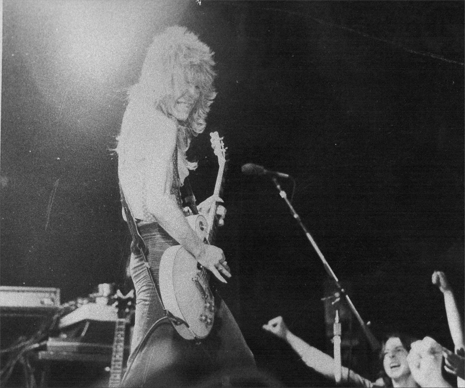 Randy Rhoads - on stage