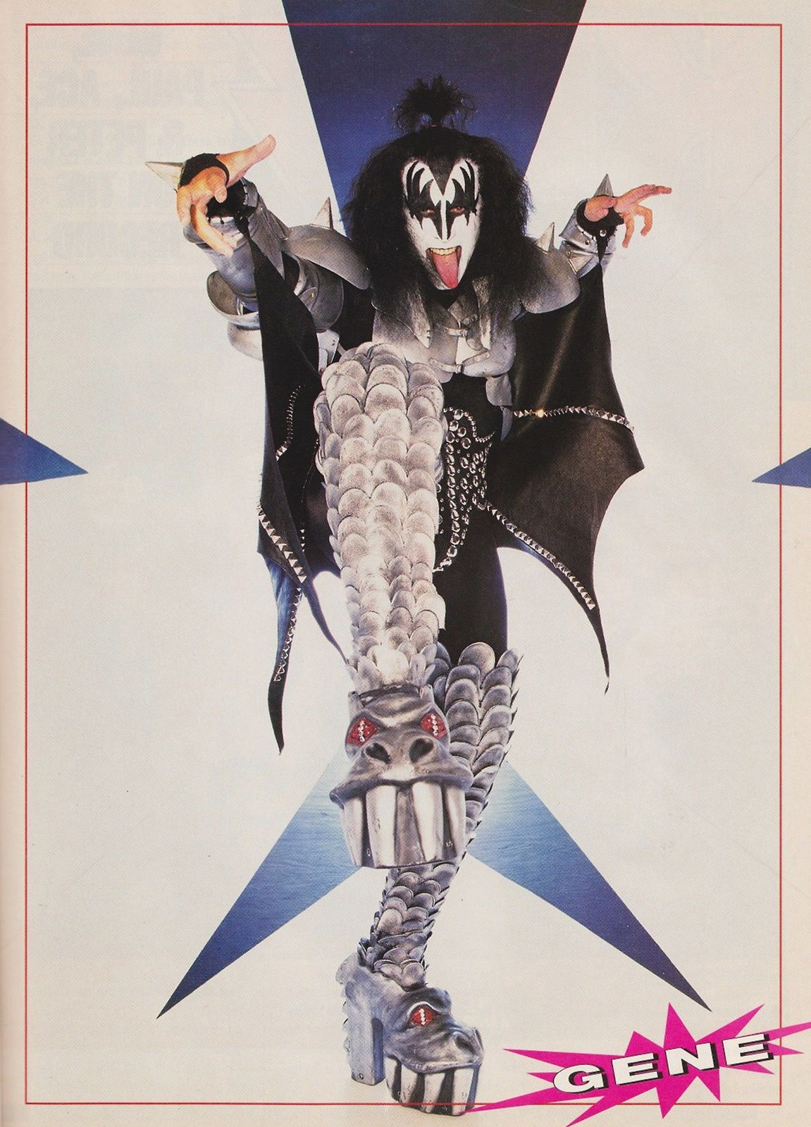 Gene Simmons - 1998 - KISS - Psycho Circus Photo Shoot