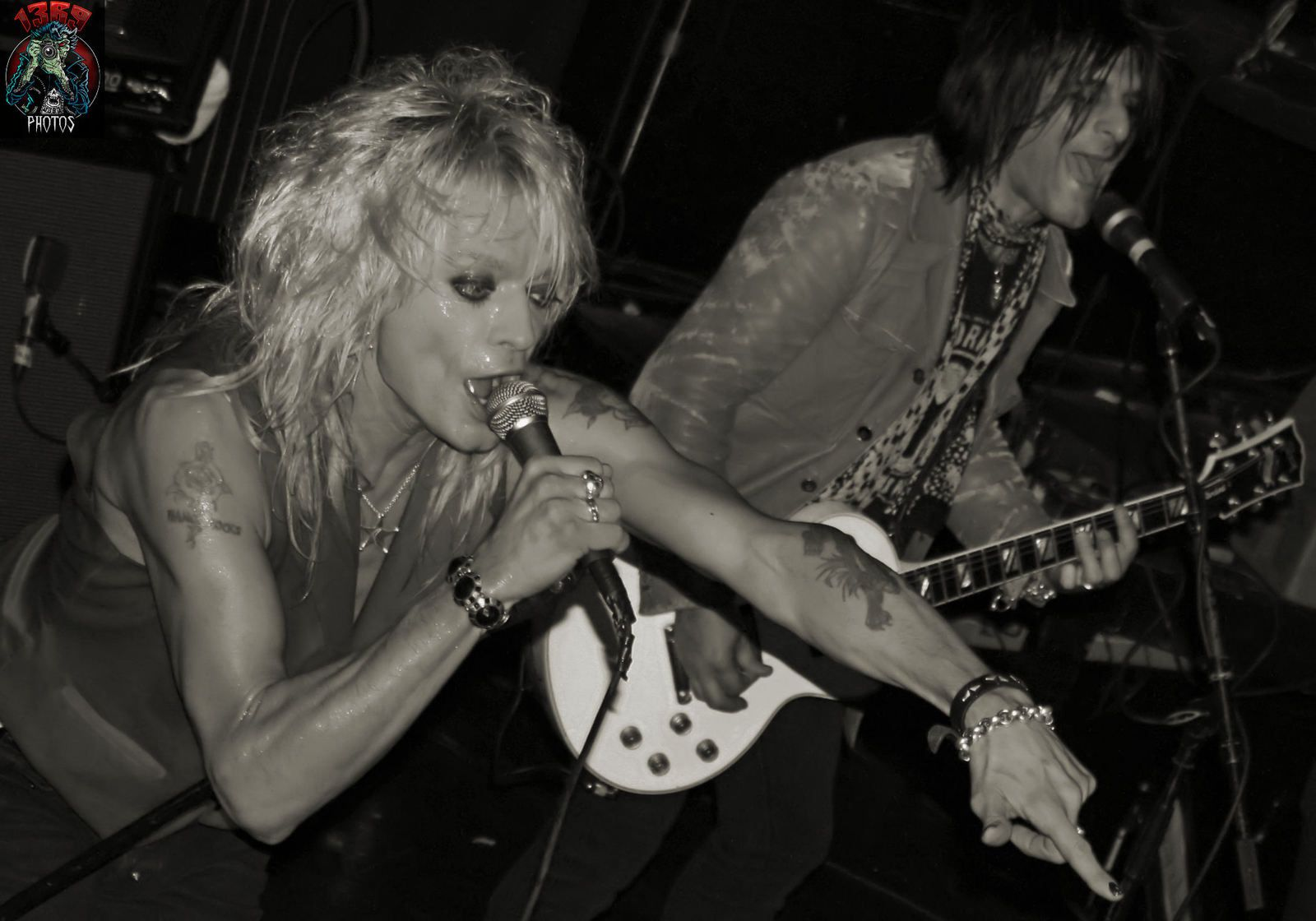 Michael Monroe - on stage