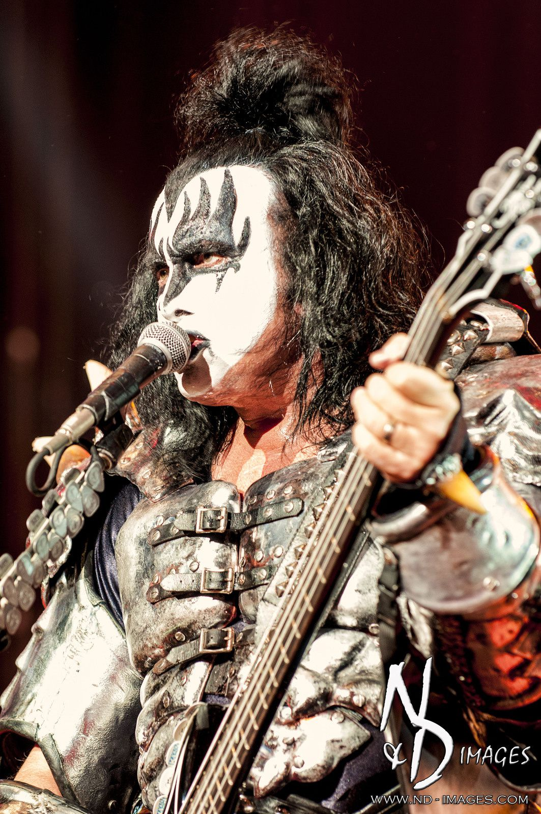 Gene Simmons - KISS Sep 16, 2012 at Comcast Center, Mansfield, MA (USA) - credit: N&D Images