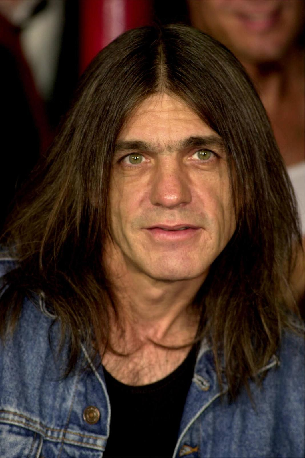 2000: Malcolm Young, portrait