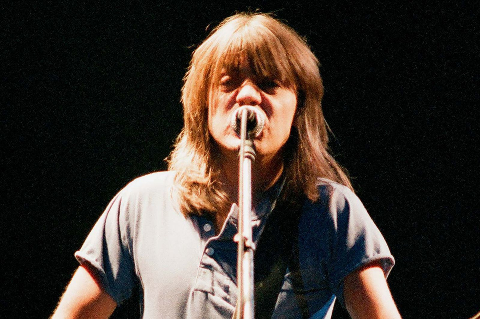 1986: Malcolm Young of AC DC performs on stage at Wembley Arena on January 17th, in London, United Kingdom - credit: Peter Still