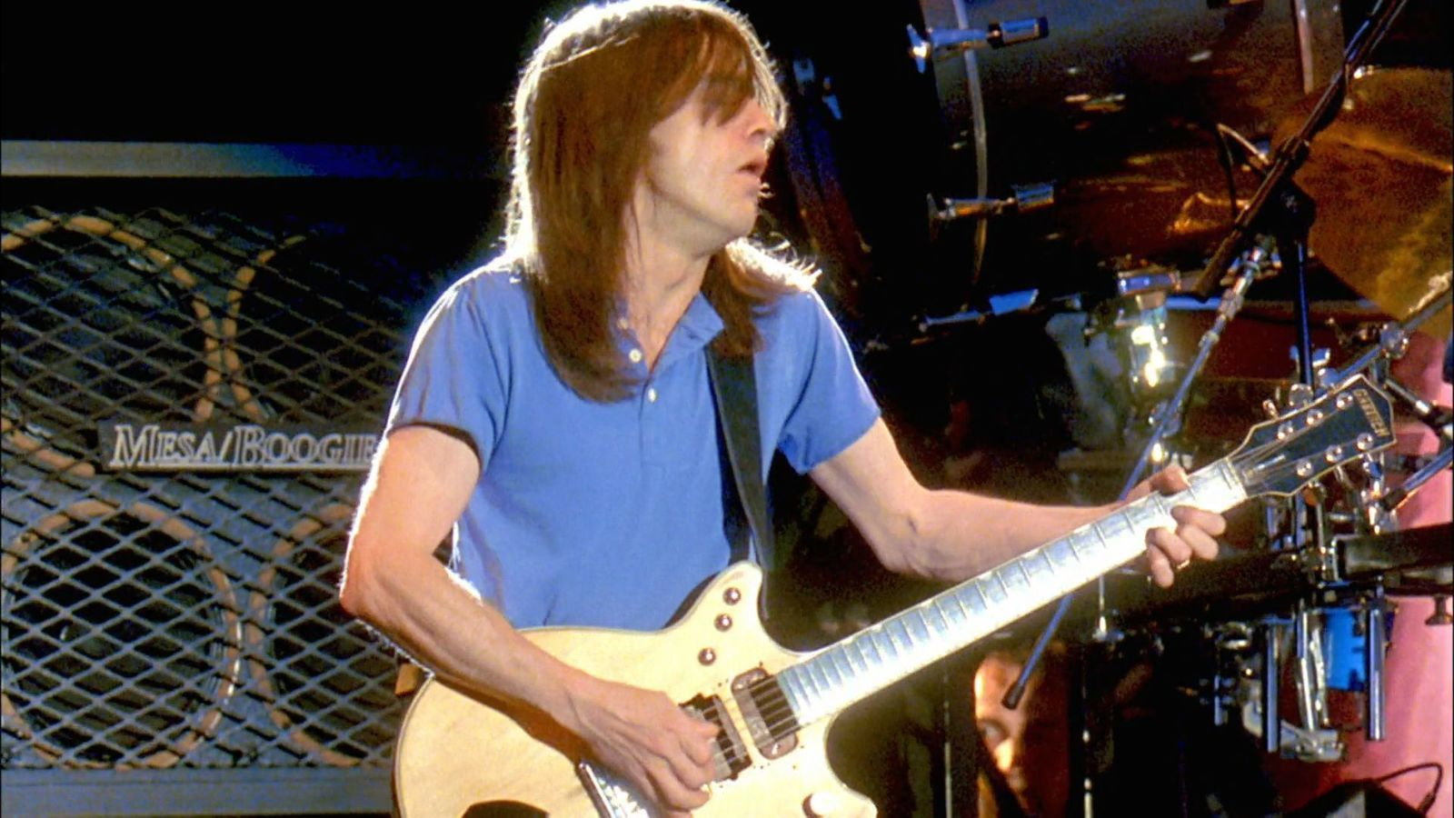 1991: Malcolm Young with AC-DC - Live at Donington