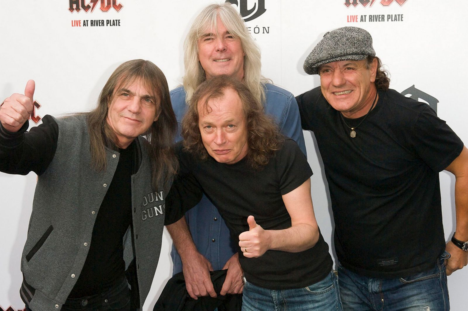 2011: Exclusive World Premiere Of AC DC Live At River Plate Presented By DeLeon Tequila at the HMV Apolo on May 6, in London, England.
