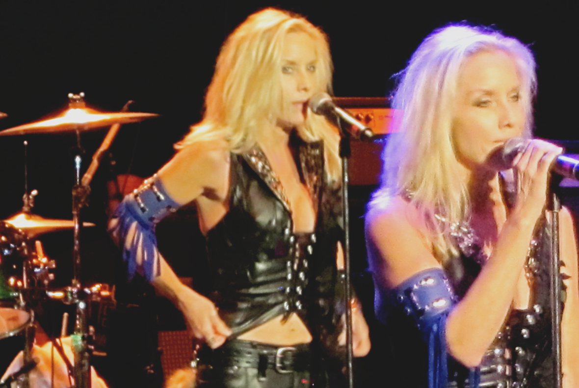 Cherie Currie and Lita Ford, Pacific Amp Concert, August 11th, 2010