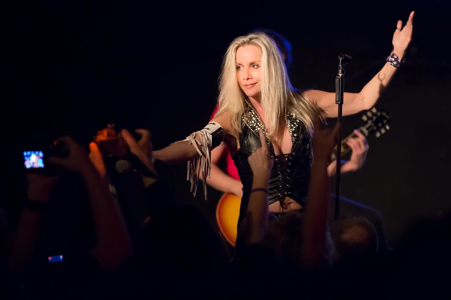 Cherie Currie of the Runaways at Brighton Bar in Long Branch, NJ, US