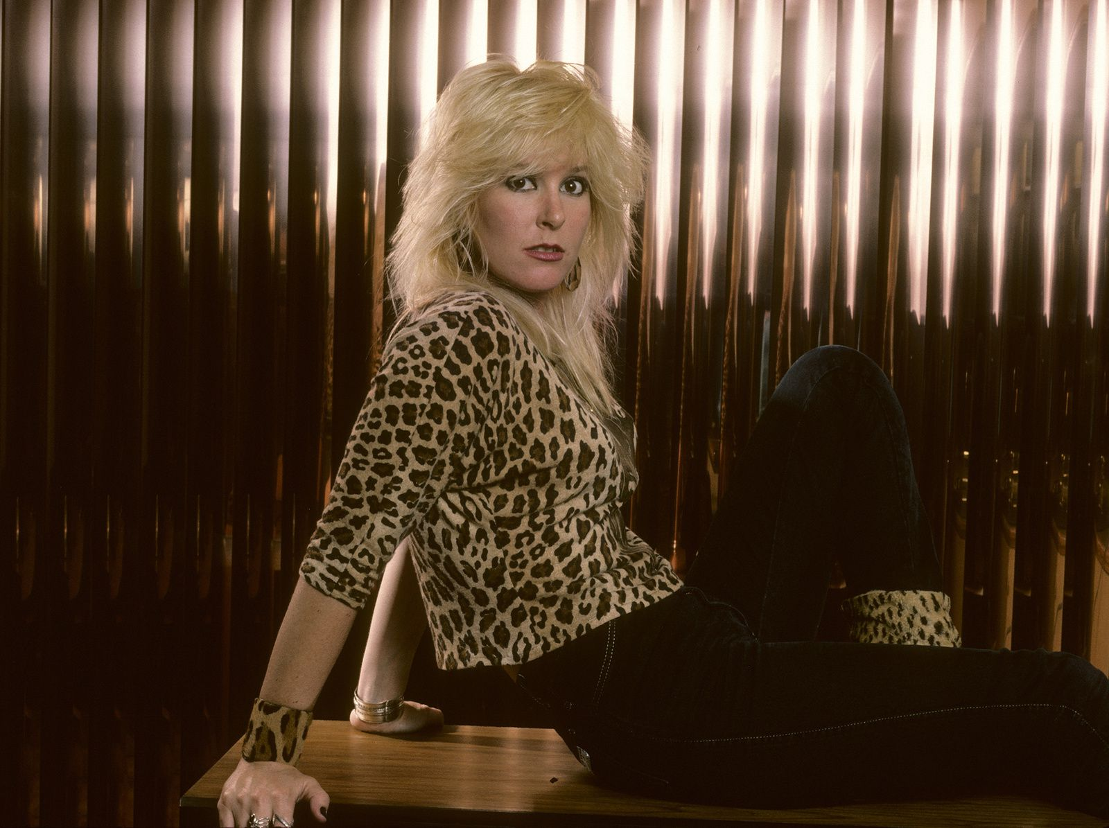 Lita Ford - in the 80s