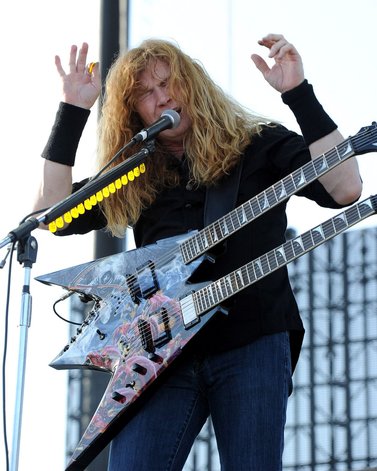 Dave Mustaine - Megadeth, 2011