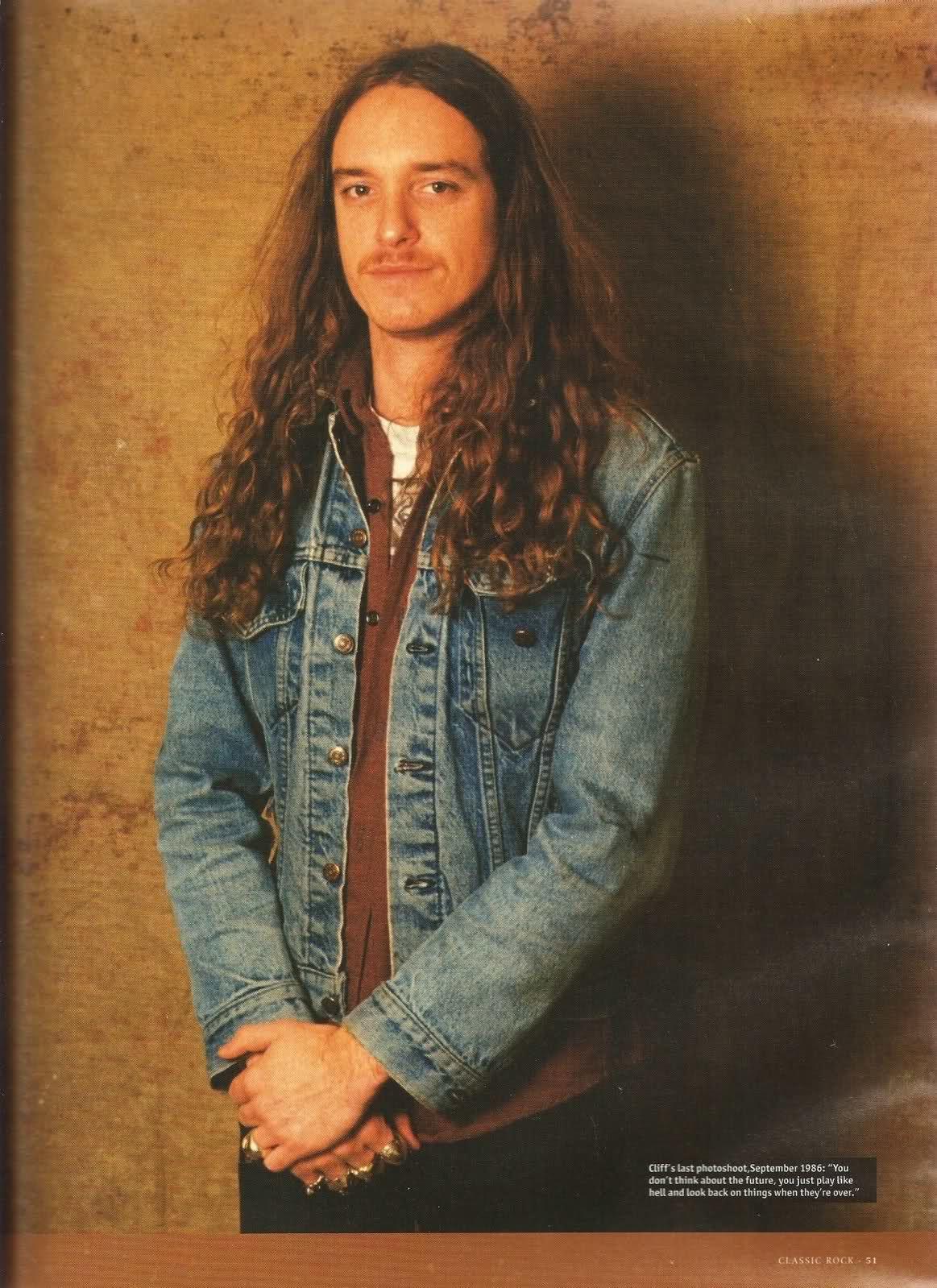 Cliff Burton - Metallica - last photoshoot, September 1986