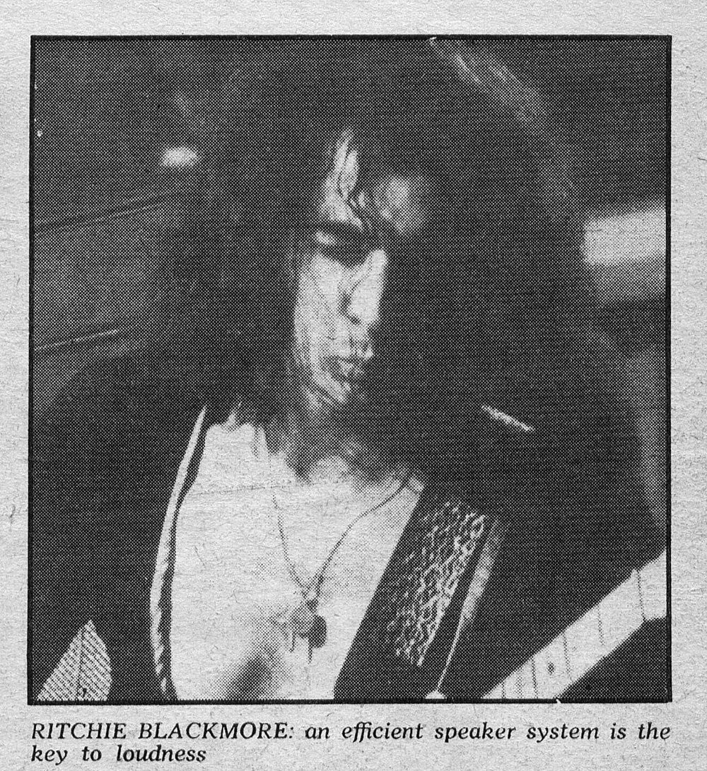 Ritchie Blackmore, 1976