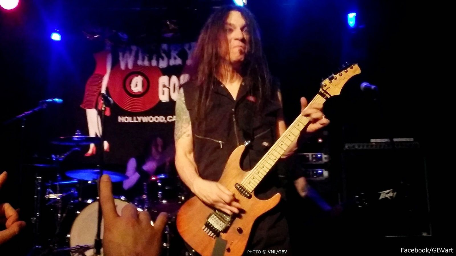 Scotti Hill, kid row guitars by vinnie GBV,  Whisky a Go Go May 17 2014