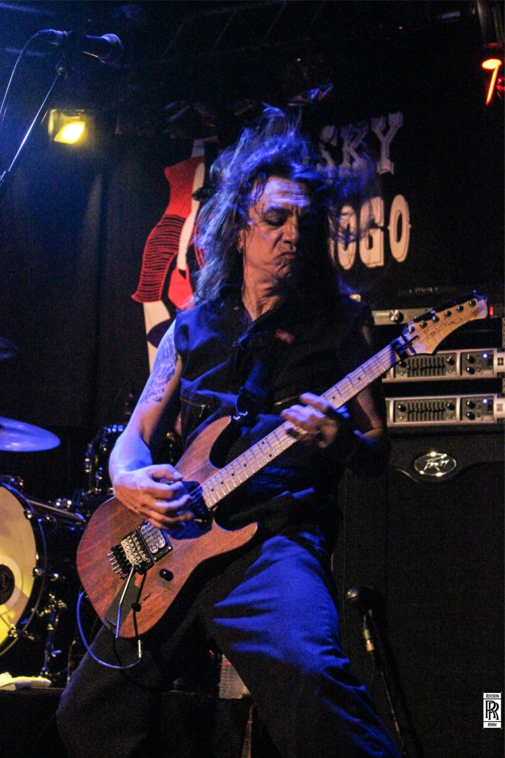 Scotti Hill, kid row guitars by vinnie GBV,  Whisky a Go Go May 17 2014 - Rockin' Ryan