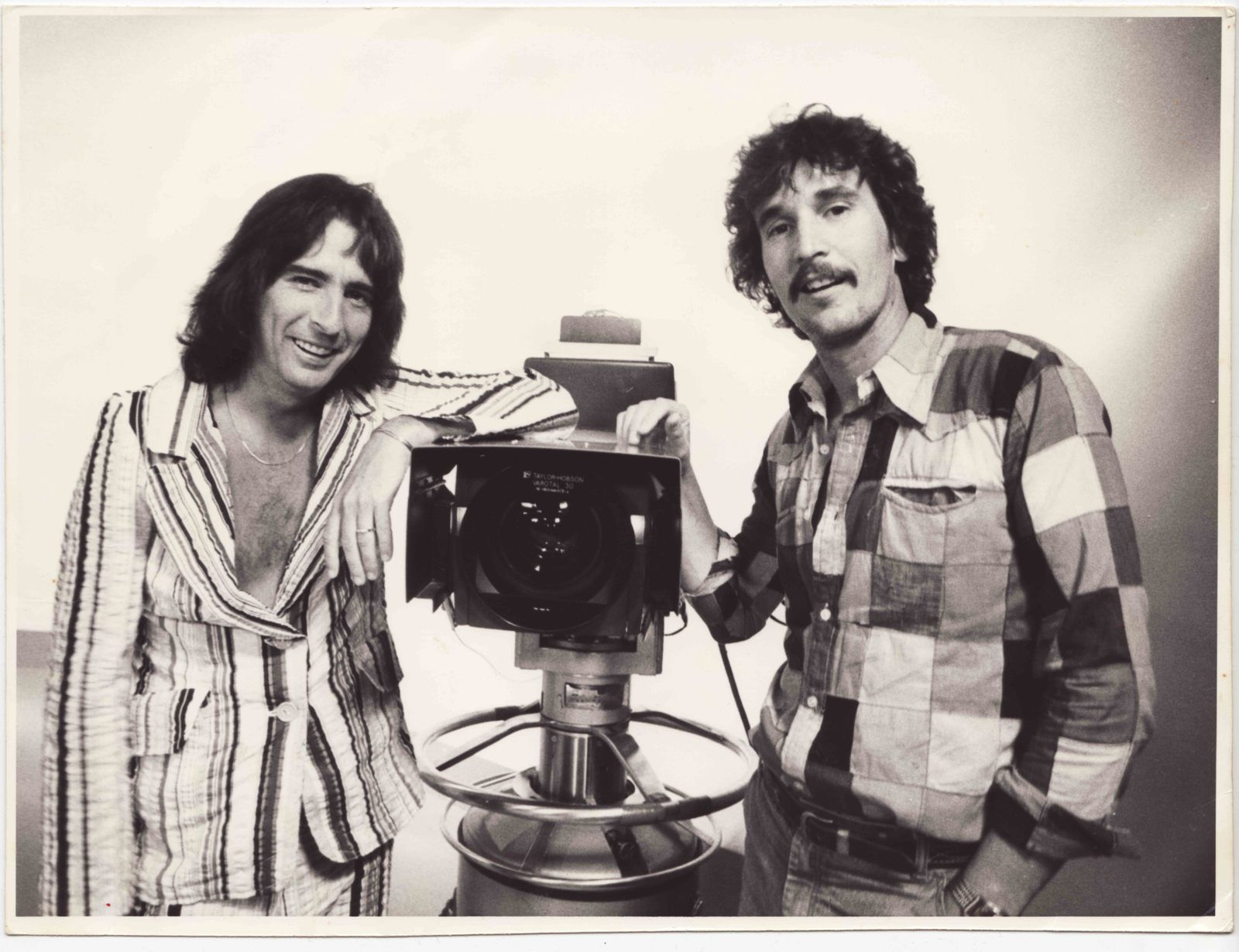 Alice Cooper and Hugh Davidson in the seventies