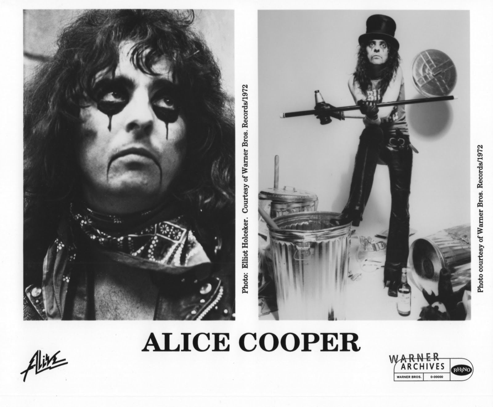 Alice Cooper, Warner Archives (1972)