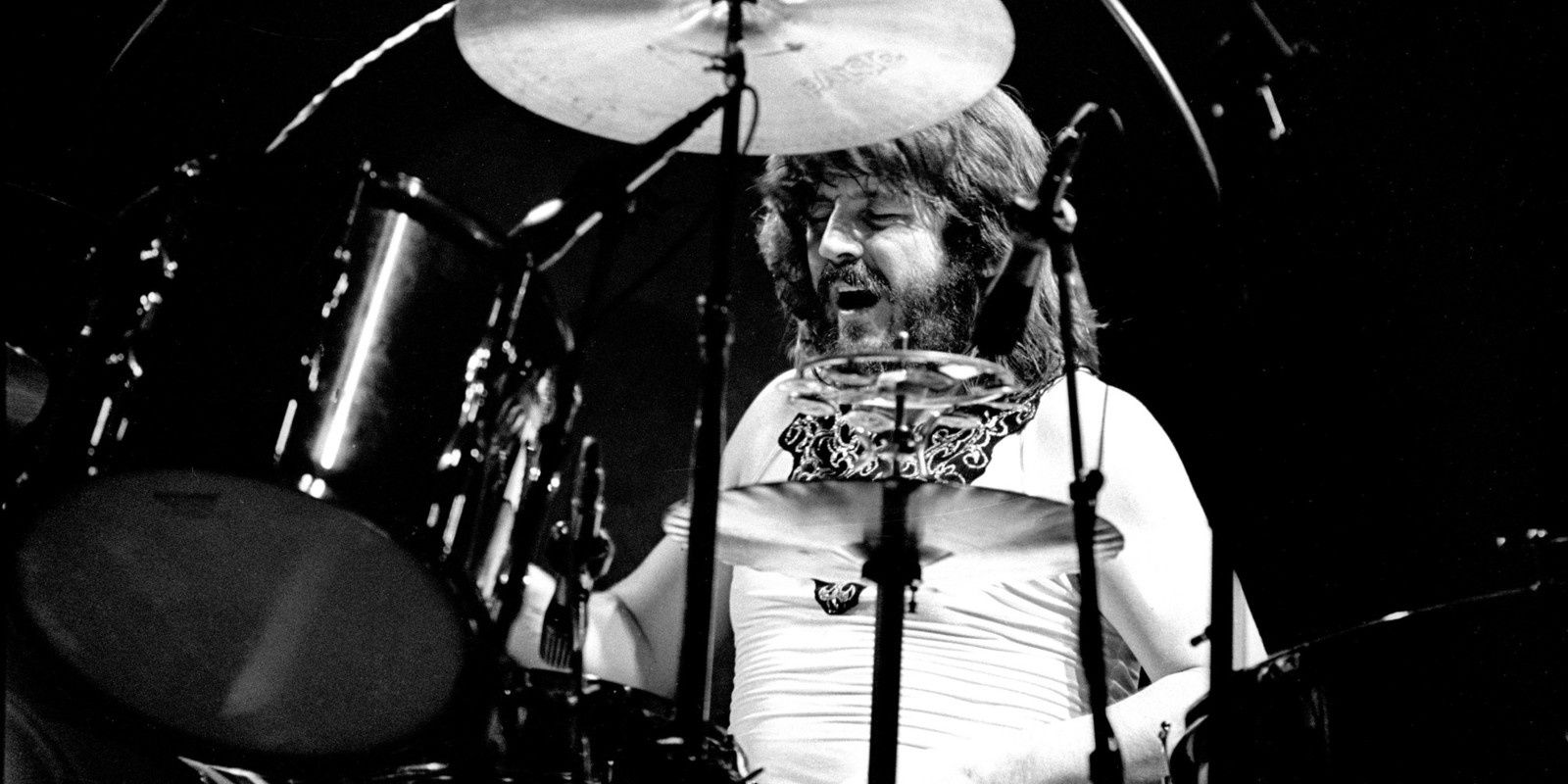 John Bonham, drummer of Led Zeppelin - Crédits: Redferns