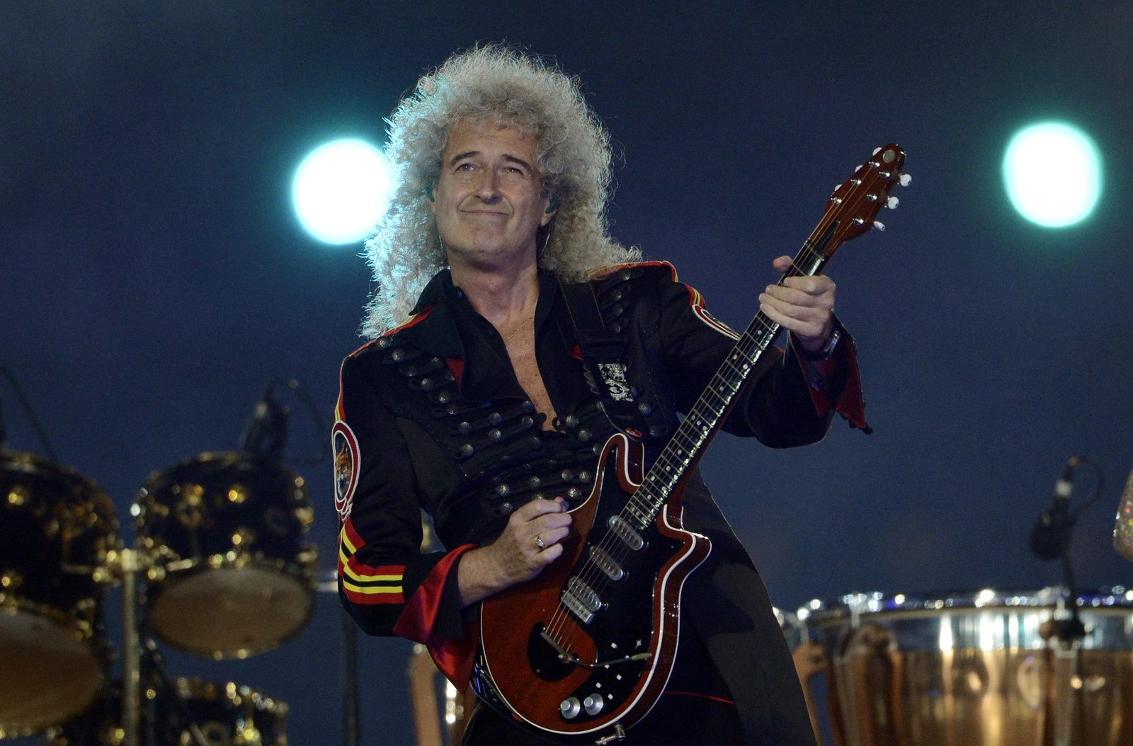 Brian May - 2012 - From the Closing Ceremony of the London Olympic Games