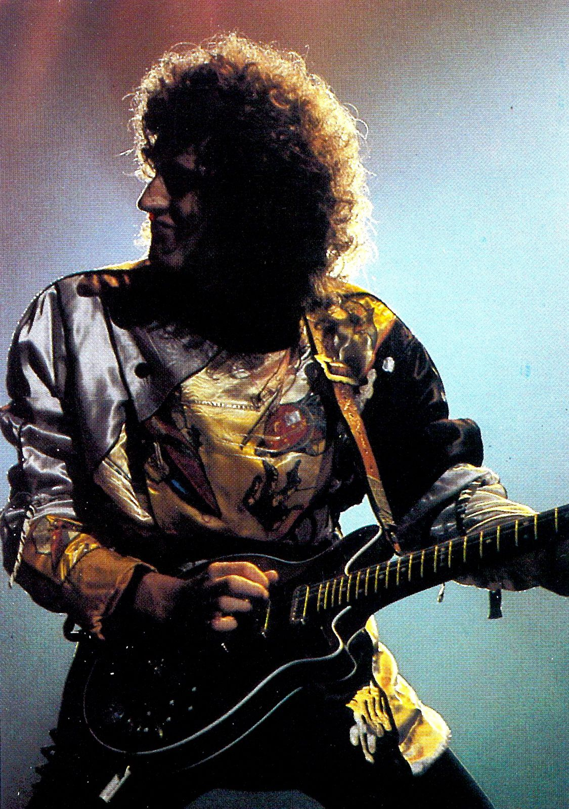 Brian May - on stage