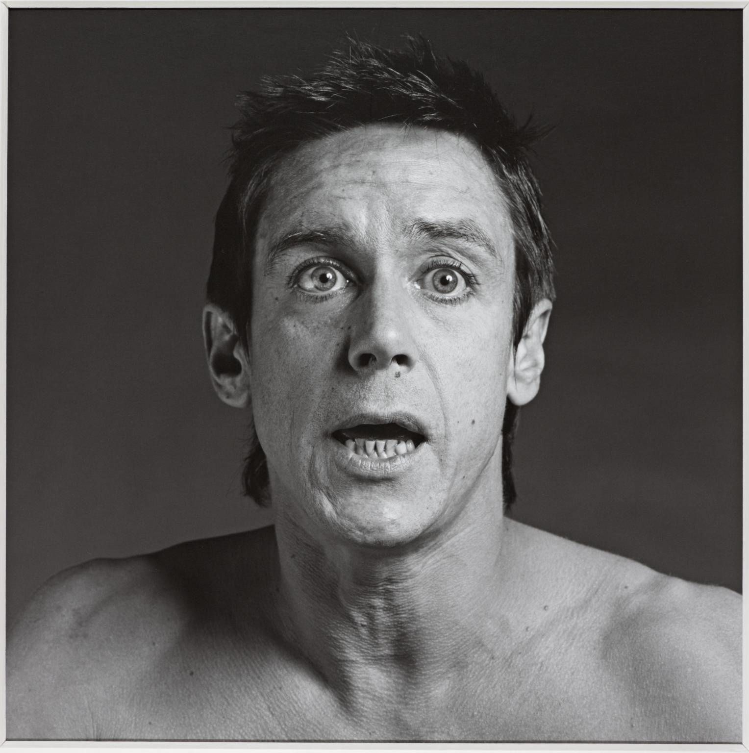 Iggy Pop, 1981 - credit: Robert Mapplethorpe
