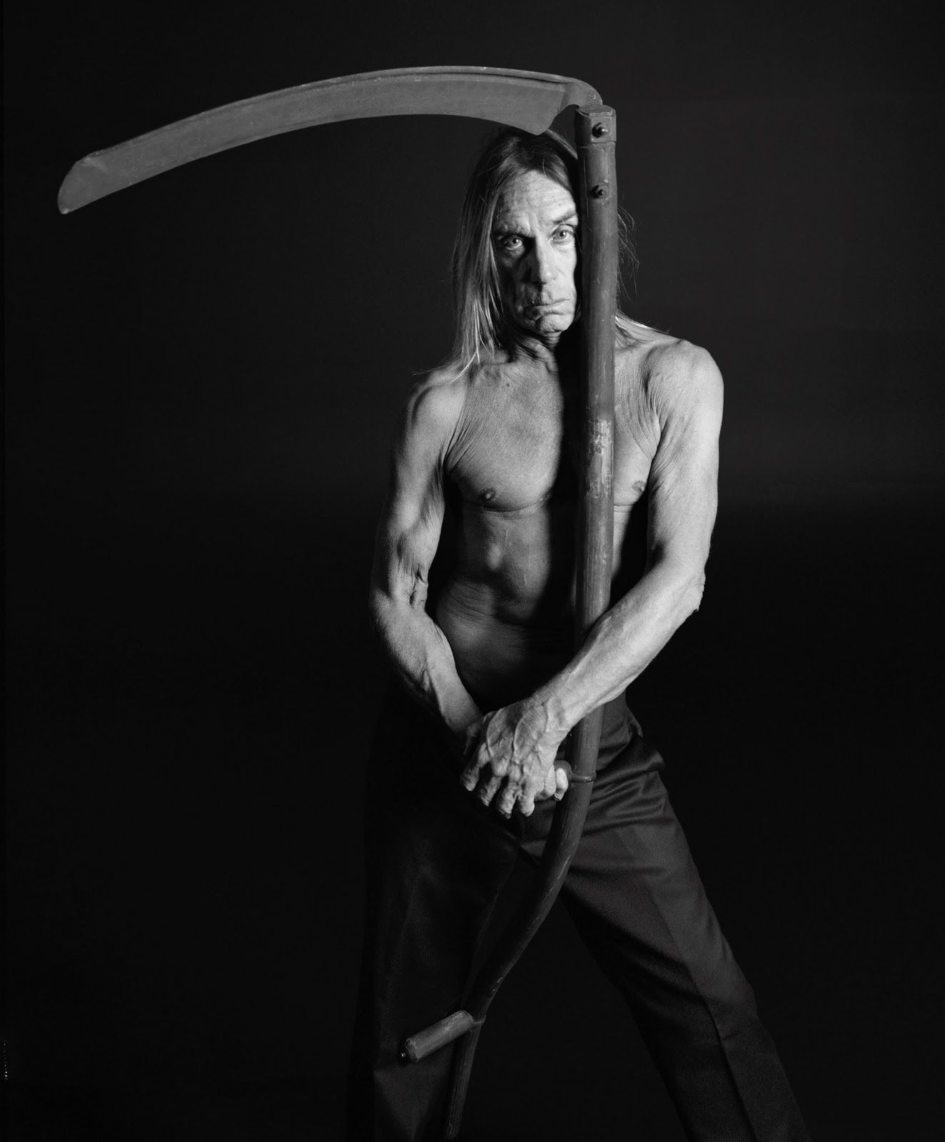 Iggy Pop by Mikael Jansson (fashion photographer)