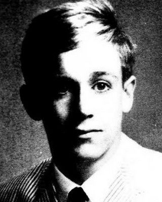 James Newell Osterberg, Jr as a high school senior (1965).