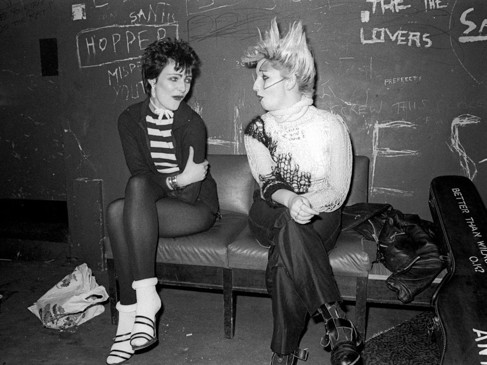 Siouxsie Sioux and Jordan R