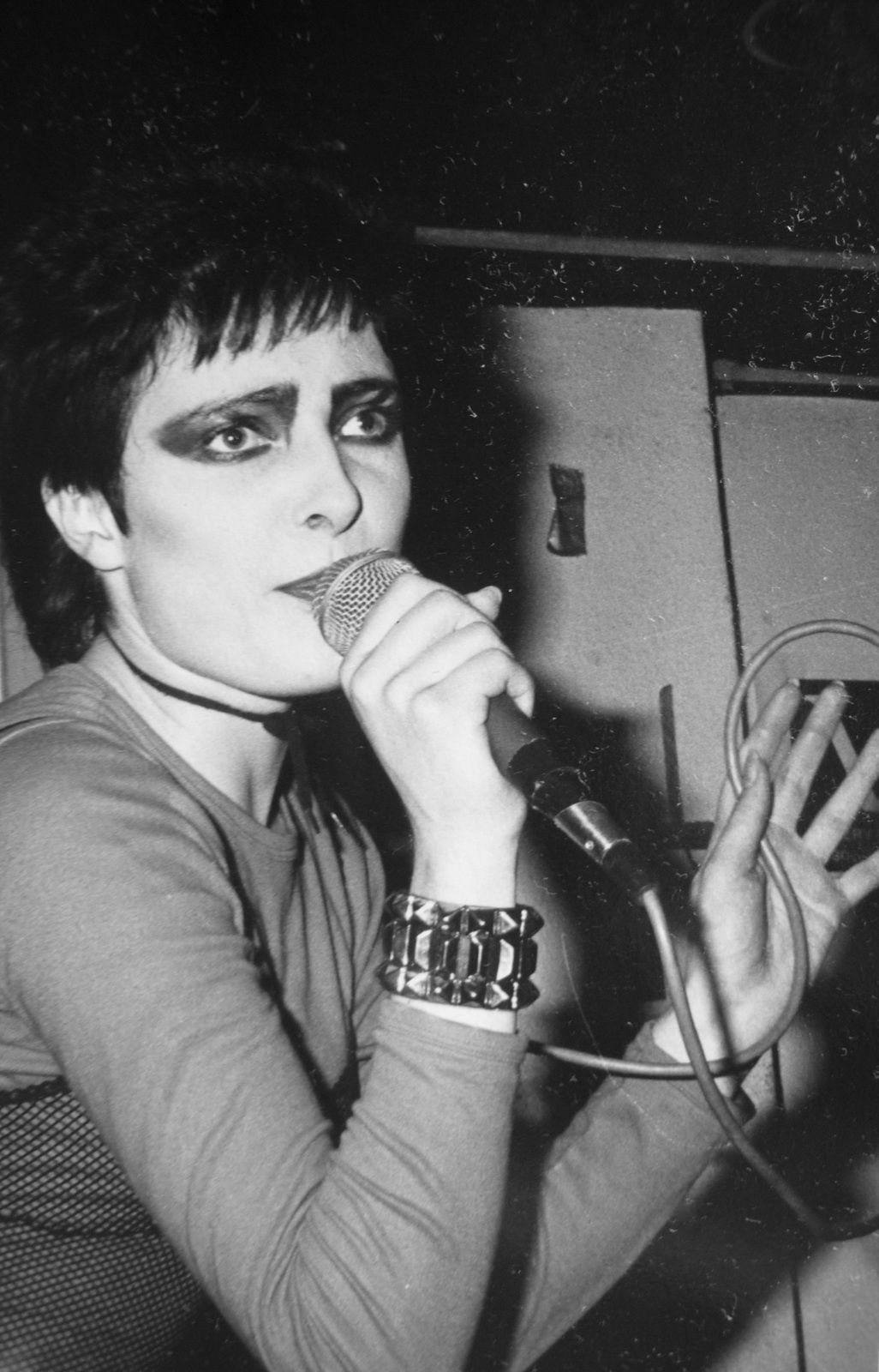 Siouxsie & The Banshees at The Vortex Club, London, October 31, 1977 by Jeremy Gibbs