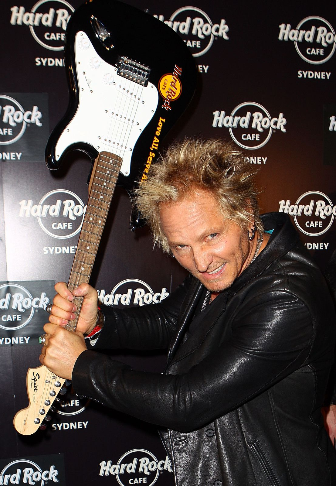 Matt Sorum at the Hard Rock Cafe official opening at Darling Harbour on December 6, 2011 in Sydney, Australia - credit: Ryan Pierse