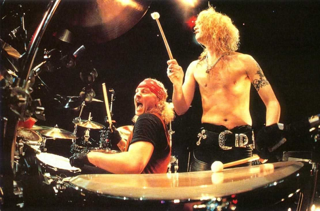 Matt Sorum and Duff McKagan