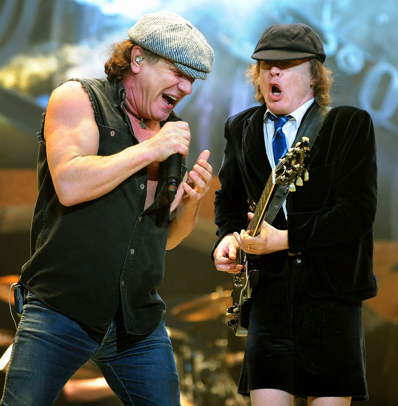 Brian Johnson and Angus Young, 2008