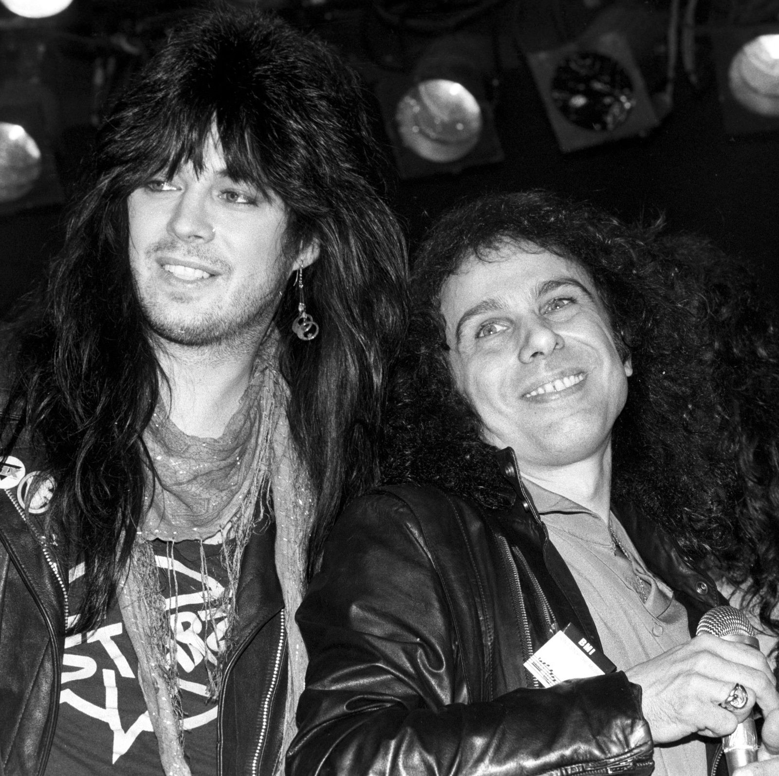 Ronnie James Dio and Rik Fox
