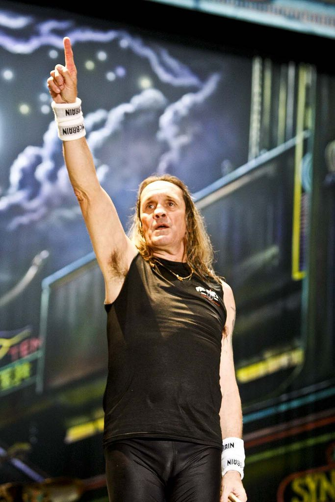 Nicko McBrain, Iron Maiden (Costa Rica)
