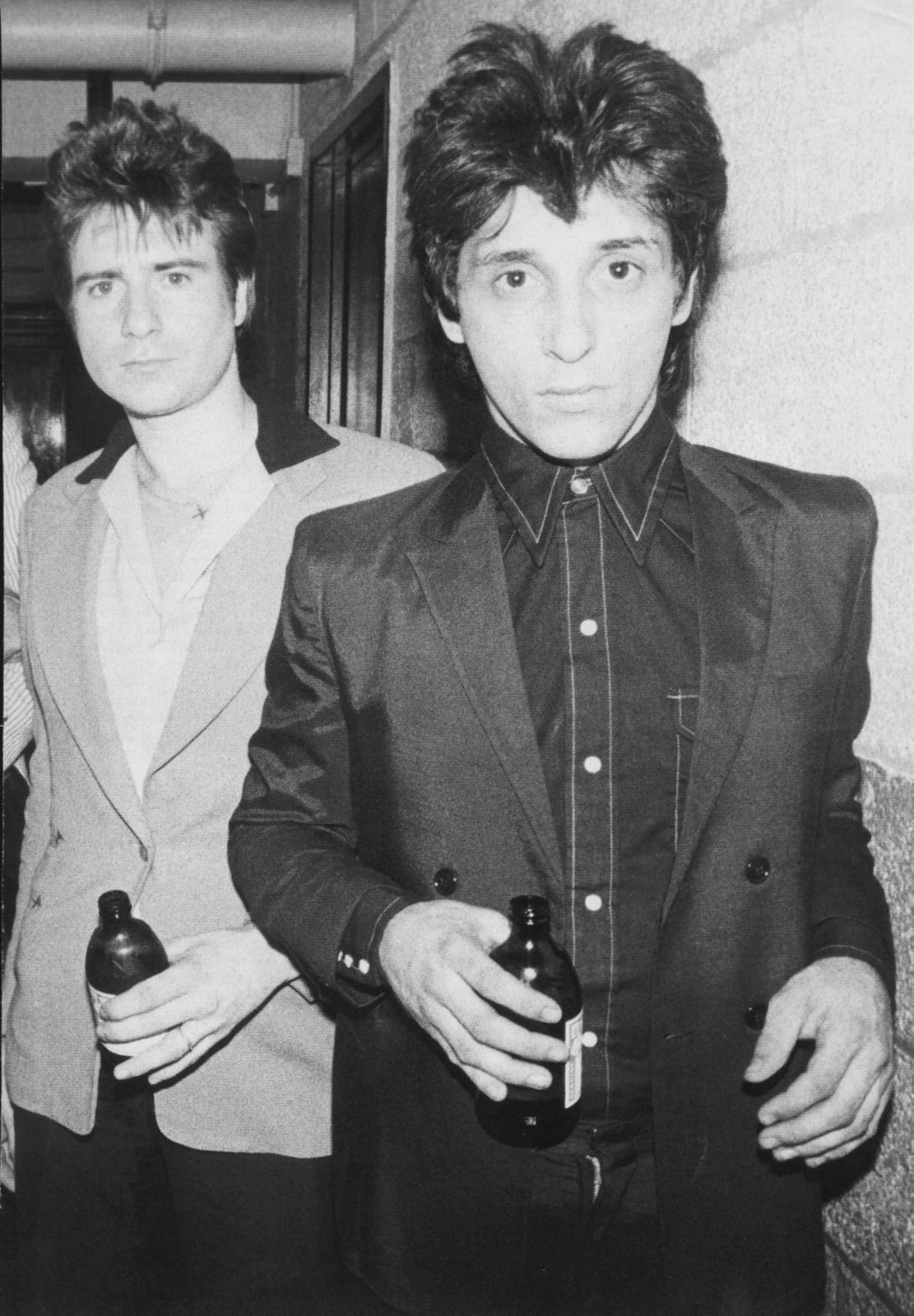 Johnny Thunders and Jerry Nolan by Bob Gruen, 1976