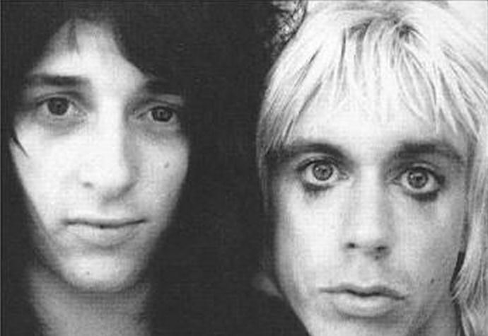 Johnny Thunders and Iggy Pop