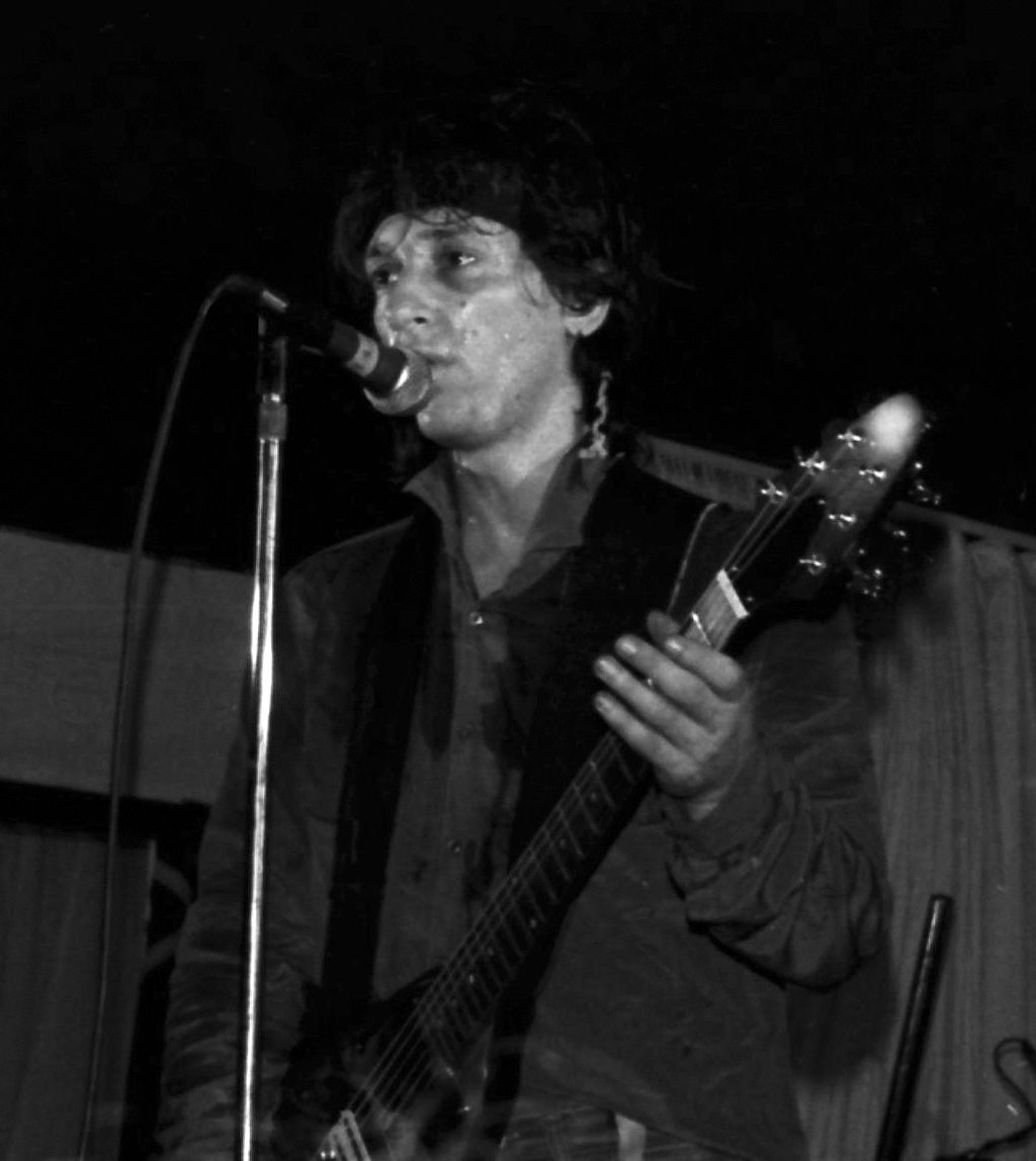 Johnny Thunders - Facade, Gothenburg Sweden 4th June 1982 - copyright Per-Ake Warns