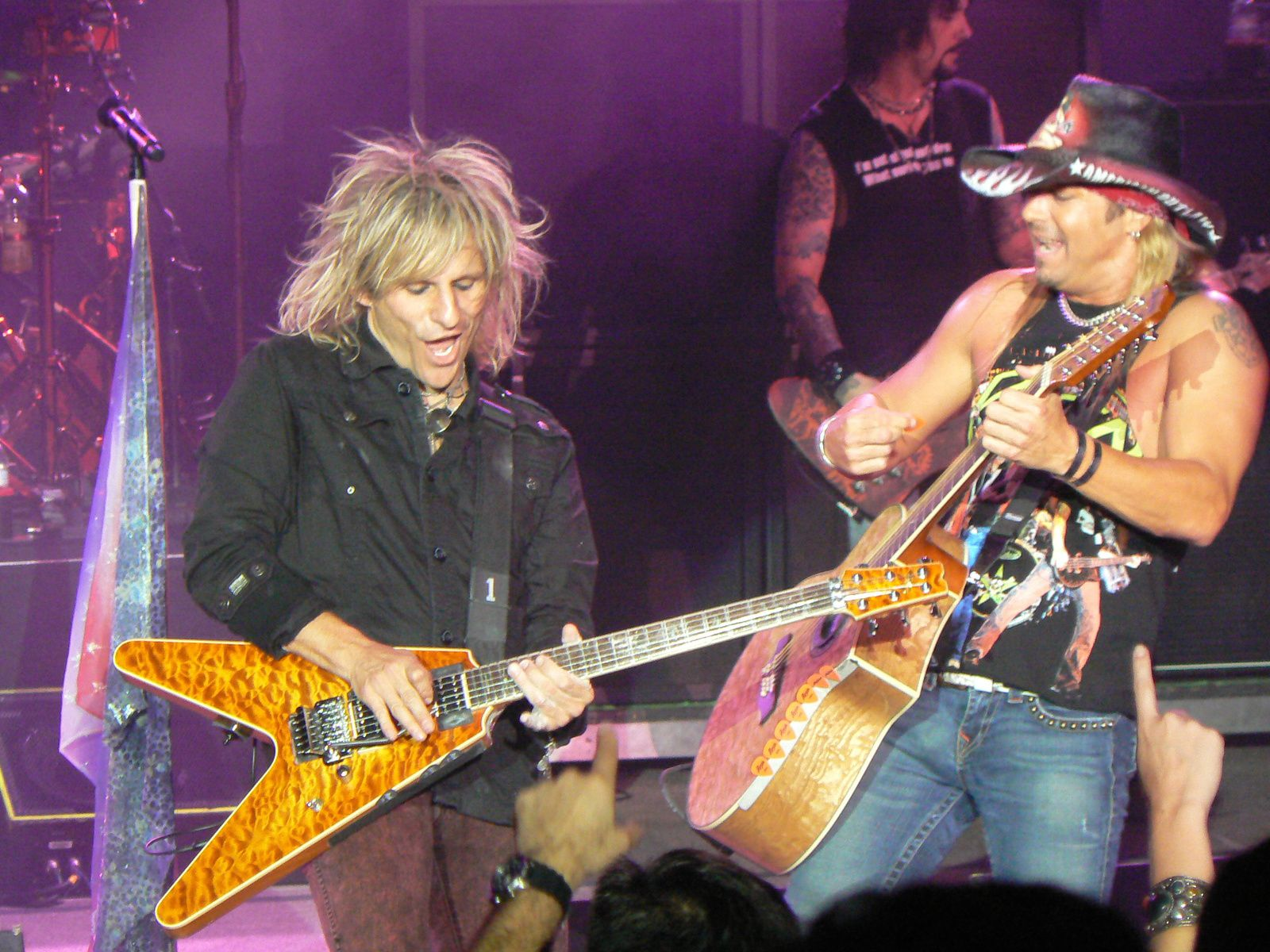 C.C. DeVille and Bret Michael