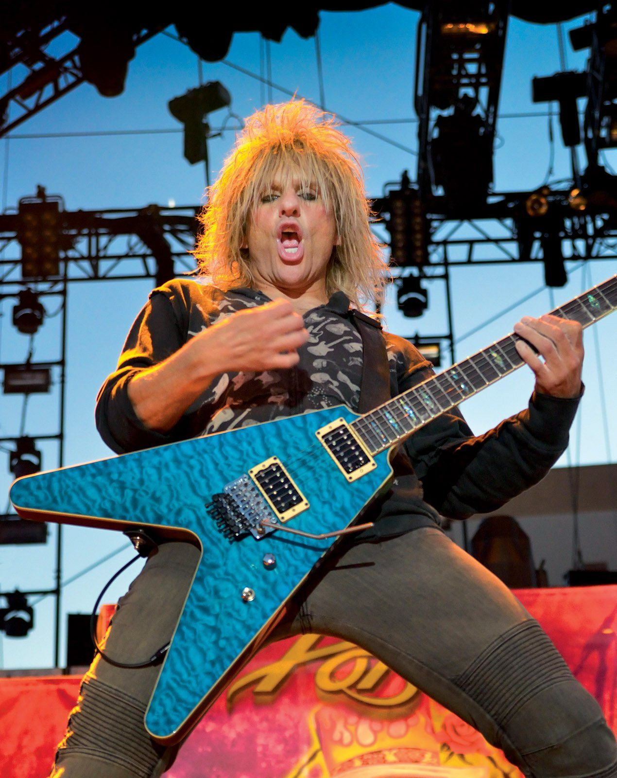 C.C. DeVille, Poison live - credit: Bill Hugues
