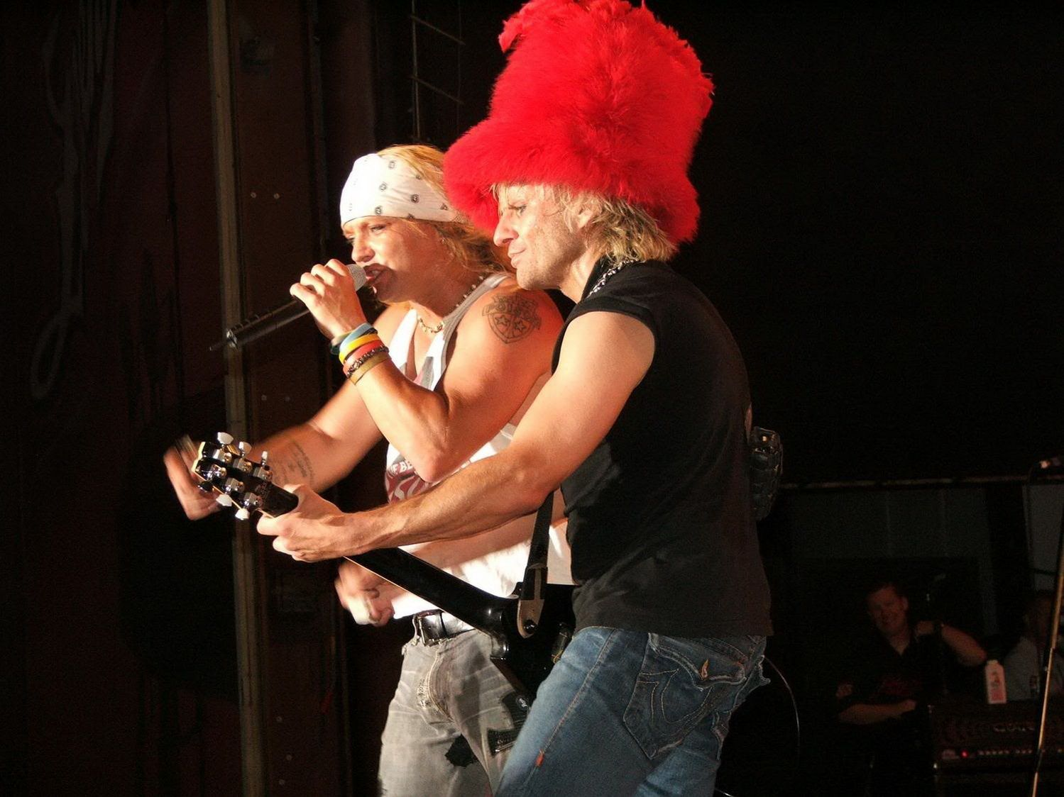 C.C. DeVille and Bret Michael, 2006