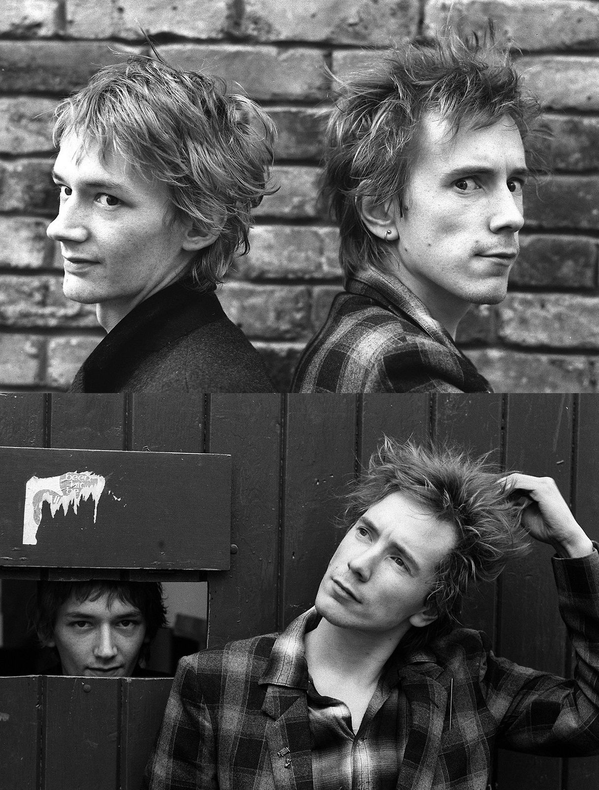 Johnny Rotten and Keith Levene (1981)