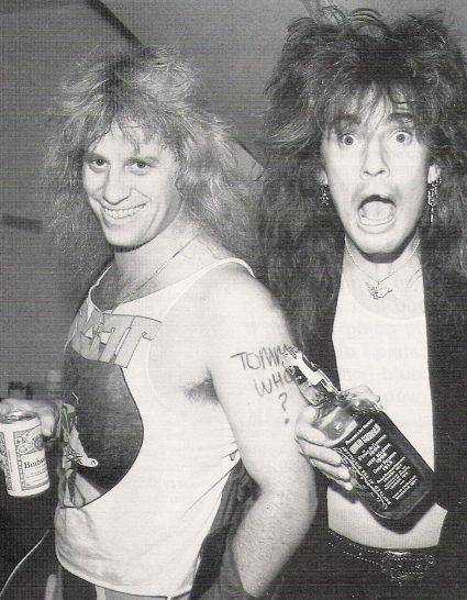 Bobby Blotzer and Tommy Lee