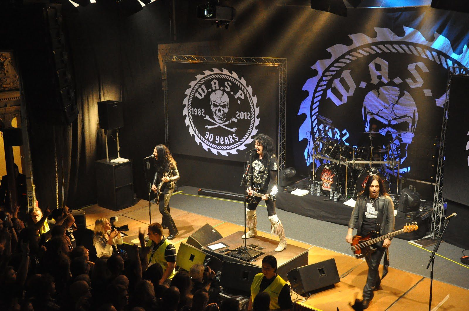 Blackie Lawless, Doug Blair, Mike Dupke, Mike Duda - W.A.S.P. Sundsvall, Sweden (2012)
