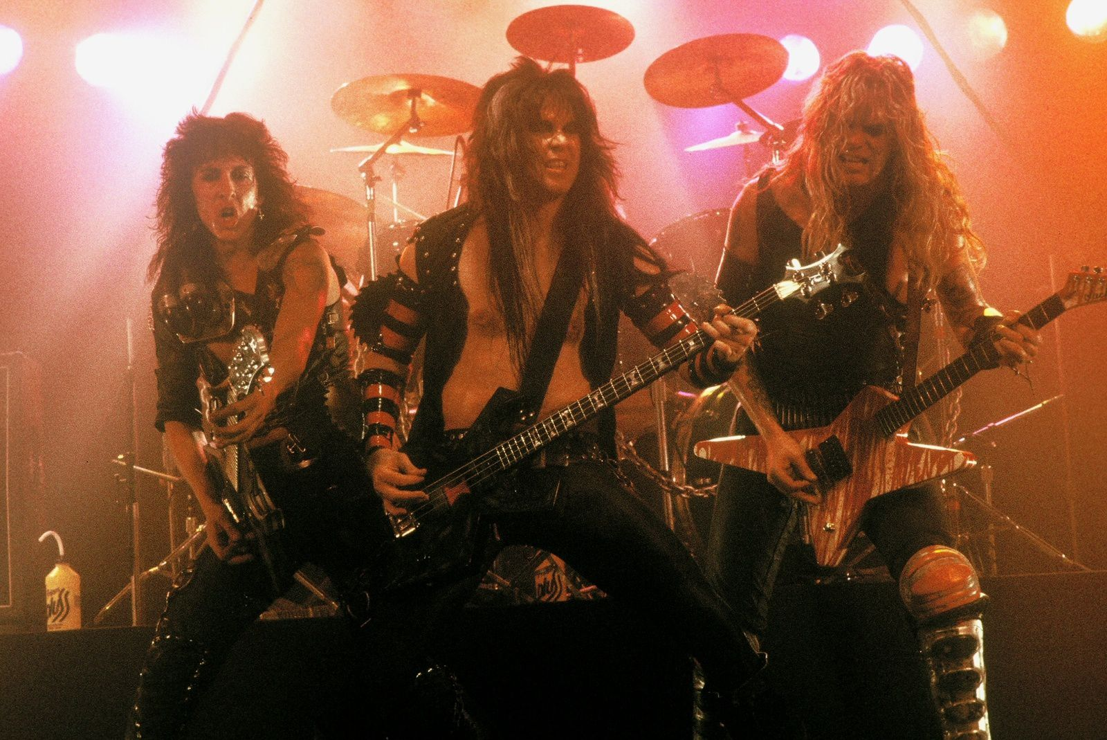 Blackie Lawless, Chris Holmes, Randy Piper (W.A.S.P.)
