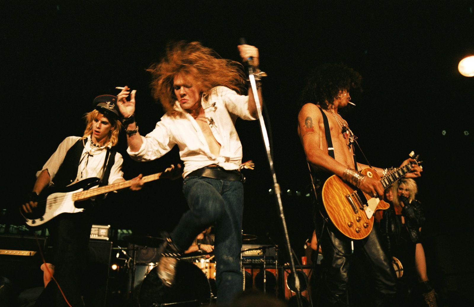 Axl Rose, Slash and Duff McKagan